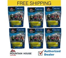 Mountain House Freeze Dried 6 Food Pouches - Beef Stroganoff - Pro-Pak Free ship