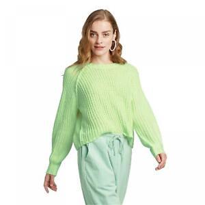NWT Wild Fable Women's Crewneck Raglan Pullover Sweater. S1011