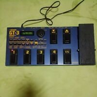 Boss GT-3 Multi-Effects Guitar Effect Pedal used JAPAN