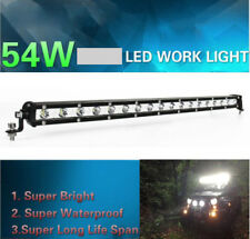 "Bright 21"" 54W LED Work Light Bar Spot Beam Offroad Driving Lamp For SUV JEEP"