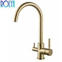 Basin Mixer Tap Kitchen Faucet Spout Diverter for Ro Water Filter Switch Valve