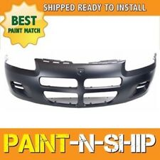 NEW 2001 2002 2003 Dodge Stratus Sedan w/o Fog Front Bumper Painted CH1000324