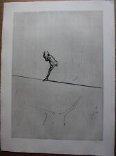 Gravure etching signée DADO Suite Haendel surréalisme surrealism 1990 pl.4 **