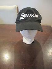 NWT Srixon Cleveland Golf Adjustable Hat Black Unstructured