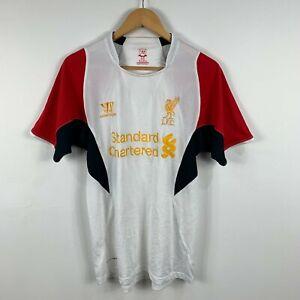 Liverpool FC Warrior Mens Football Soccer Shirt Size Medium Multicoloured