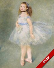 THE BALET DANCER BALLERINA FRENCH AUGUSTE DEGAS PAINTING ART REAL CANVAS PRINT