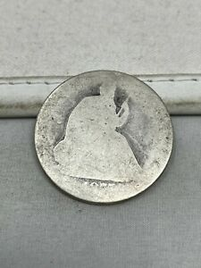1875-CC US Silver Seated Liberty Half Dollar #146