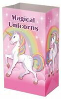 Magical UNICORN Paper Party Gift Bags