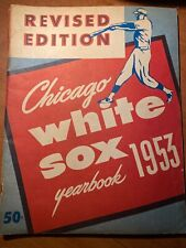 CHICAGO WHITE SOX YEARBOOK 1953