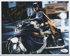 YVONNE CRAIG HAND SIGNED 8x10 COLOR PHOTO BATGIRL ON CYCLE Reprint
