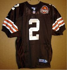 CLEVELAND BROWNS TIM COUCH AUTOGRAPHED AUTHENTIC NFL Football # 2 JERSEY