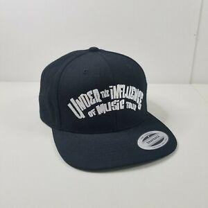Wiz Khalifa under The Influence of Music Tour Snapback Hat Black Cap Rap Hip Hop