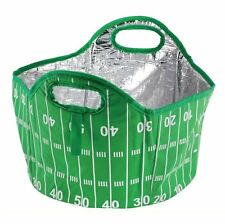 4 Gallon Football Field Tailgate Cooler Tote  Sports Picnic Home Easy Storage