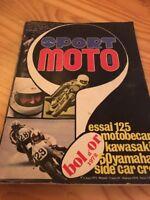 Sport moto magazine  n° 6 1972 Brands Hatch GP Brno Suéde Finlande raid Orion .
