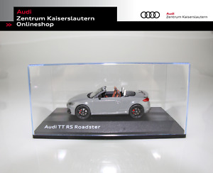 Audi Orginal Miniatur TT RS Roadster Nardograu Maßstab 1:43 Model 5011610531