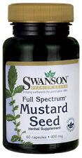 Mustard Seed 400 mg x 60 Capsules Full Spectrum Premium - Fast Shipping