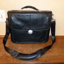 "DELL LEATHER LAPTOP BAG IN EXCELLENT CONDITION  12 1/2""X 11"" INTERNAL DIMENSIONS"