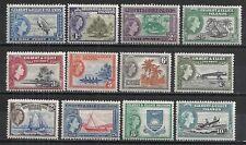 GILBERT & ELLICE ISLANDS 1956 QEII SET PRISTINE FRESH MNH £70