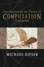 Introduction To The Theory Of Computation 3/E Int'L Edition