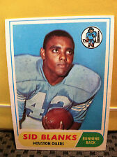 1968 Topps # 120 SID BLANKS *** READ DESC. ** OILERS  ** RF-6279