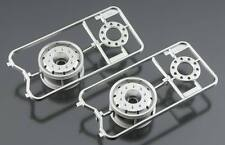 Tamiya 56520 Metal Plated Ruedas - 30mm/Matte Finish/Bearing modelismo
