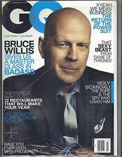 Bruce Willis Gq Revista 3/13 Emilia Clarke Game Of Thrones Sellado