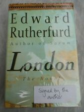 Edward Rutherfurd London First ( 1st ) Edition - Signed by Author