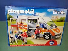 (O6685) playmobil camion ambulance ref 6685 boite complète