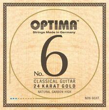 OPTIMA No.6 24K GOLD Classic STRINGS Carbon High Konzertgitarre Saiten SATZ