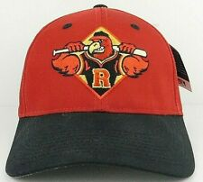 Rochester Red Wings Minor League Baseball Cap Hat Red Strapback Adult Size S/M