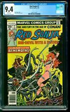 Red Sonja 7 CGC 9.4 NM Roy Thomas story Frank Thorne cover art Marvel 1978