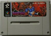 Akumajo Devil castle Dracula Japan Nintendo Super Famicom SFC SNES video game