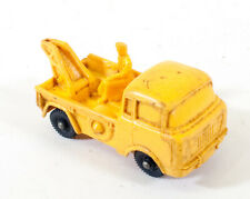 Vintage Tomte Laerdal No 17 Wrecker Tow Truck Rubber Toy Car Norway F587