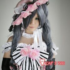 Black Butler Ciel Phantomhive Cosplay Wig With Two Ponytail
