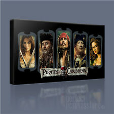 PIRATES OF THE CARIBBEAN FABULOUS ICONIC CANVAS ART PRINT PICTURE Art Williams