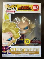 Funko Pop Animation: My Hero Academia - All Might Weaken Glows in the Dark
