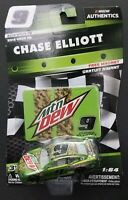 2019 WAVE 06 NASCAR Authentics 1:64 CHASE ELLIOTT #9 CAMARO LIQUID GREEN MTN DEW