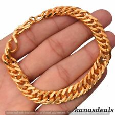 Plated Bracelets Gpb-1812 24.3 Gm Men's Gold