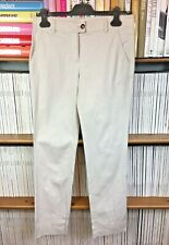 AGNONA Trousers Pants IT 42 UK 10 US 6 Casual Cotton Stretch Stone Beige Chino