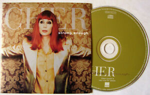 "CHER   CD Single  ""  Strong enough "" WARNER"