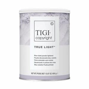 TIGI copyright colour true light blue violet powder lightener