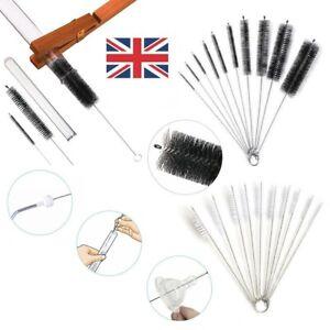 1/10 Test Tube Cleaning Brush Bottle Straw Washing Cleaner Bristle Kit UK STOCK