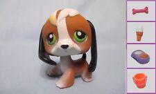 Littlest Pet Shop LPS BEAGLE #113 Dog Freckled + 1 FREE Access. 100% Authentic