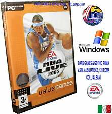NBA LIVE 2005 @@@ PC CD ROM WINDOWS NUOVO IMBALLATO ITA