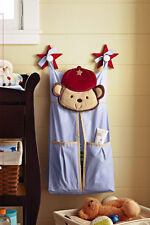 Premium Embroidered Nursery Diaper Nappy Stacker - Brand NEW