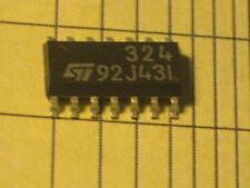 LM324  POWER QUAD OP AMPLIFIER  ST SMD 2PC