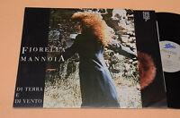 FIORELLA MANNOIA LP DI TERRA E DI VENTO 1°ST ORIG+INNER TESTI TOP EX