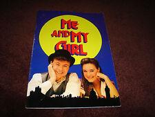 ME AND MY GIRL - DEREK METZGER, RACHAEL BECK, RARE THEATRE 1994 PROGRAM BOOK