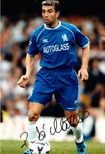 Roberto Di Matteo mano firmato Chelsea F.C FOTO 12X8 3.