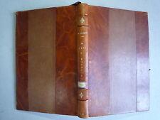 1946 LA CURE D'EXERCICE DE MAURICE BOIGEY CHEZ MASSON 2eme EDITION RELIURE CUIR